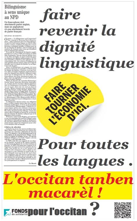 fons de dignitat lingüistica pel Quebèc