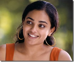 Nithya Menon smiling photo