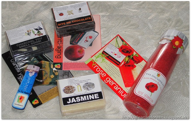SoulFlower Give Away Haul From lavanyasrecipes.blogspot.in