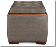 ottoman_30A Leo to match C 106952 grey loveseat