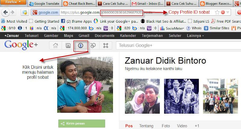 Cara Membuat Badge Profil Google+