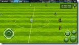 بداية مباراة فى فيفا 2014 لويندوز 8 و توزيع أزرار التحكم باللمس على الشاشة