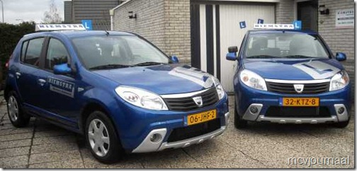 Dacia Sandero als lesauto 01