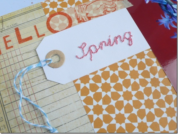 Anna Drai - big shot - scrapbooking - Hello Spring (2)