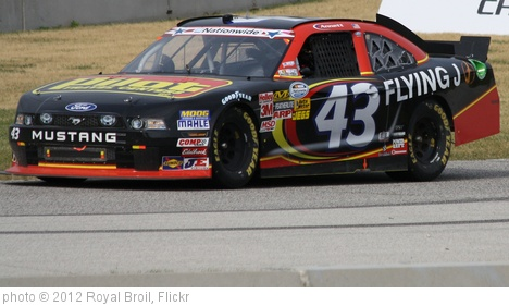 '6.23.12 Road America NASCAR Nationwide Sargento 200 - 43 Michael Annett' photo (c) 2012, Royal Broil - license: http://creativecommons.org/licenses/by-sa/2.0/
