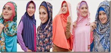 Cara Memakai Jilbab