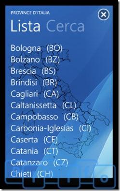 province d'italia