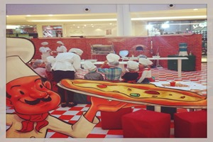 pizzaria kids shopping palladium curitiba