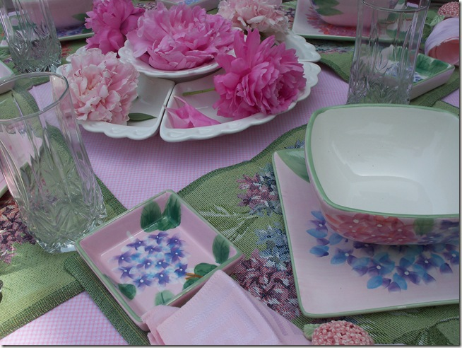 Pretty Floral Lunch 020
