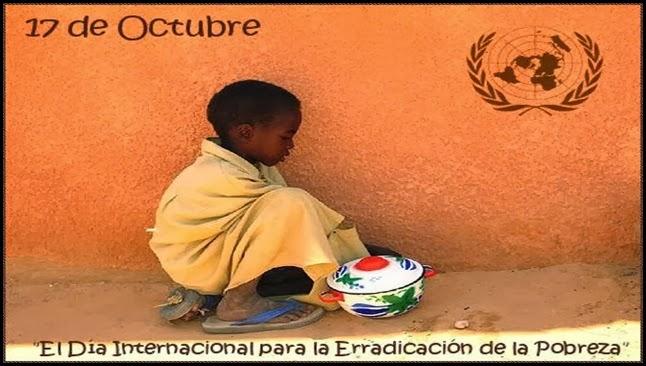 Día internacional para la erradicacion de la pobreza