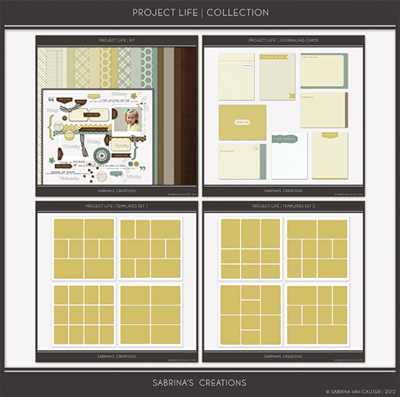 Project Life Collection by Sabrina's Creations