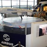 airbus A380 at narita airport in Narita, Tokyo, Japan