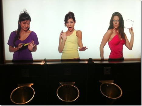 Best.  Urinal.  Ever.
