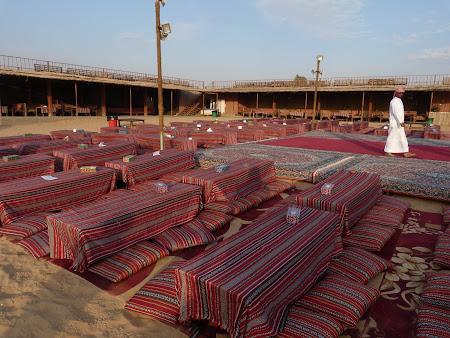 Dubai Desert Safari: tabara de beduini
