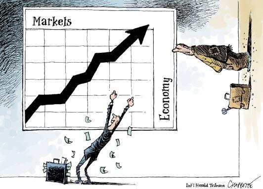 Корреляция рынка и экономики такая корреляция