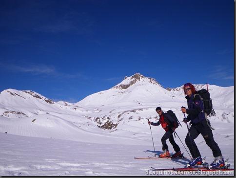 Pico de Canal Roya 2345m con esquis (Portalet, Pirineos) (Isra) 7306