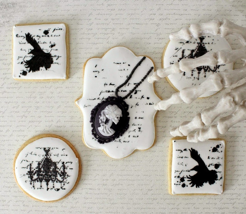 Victorian Halloween Cookies from The Simple Sweet Life