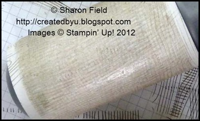 today's tips for paper crafters:  lint roller cleaning stamps