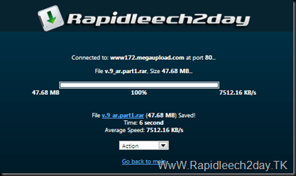 Rapidleech Download Plugin Megaupload.Com [Fixed]Download Plugin – New Changes 1