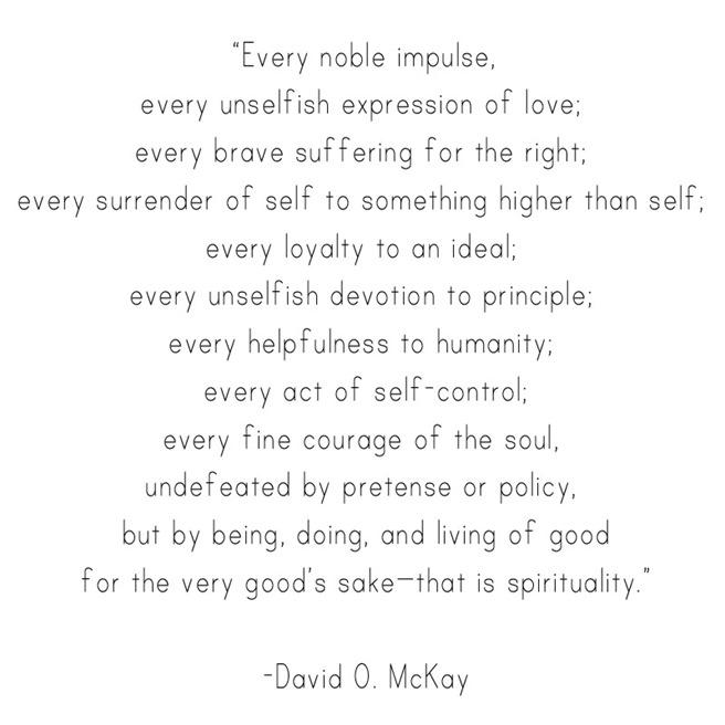 spirituality -- mckay