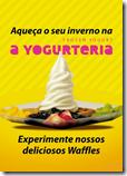 A Yogurteria Frozen waffle inverno