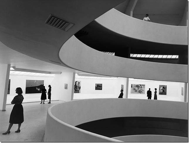 Ezra Stoller_Guggenheim Museum, Frank Lloyd Wright, New York, NY, 1959