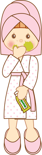 clipart imagem decoupage menina toalha (3)
