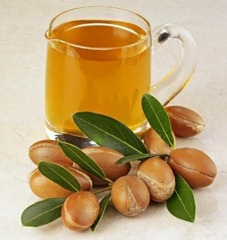 Argan oil and nut