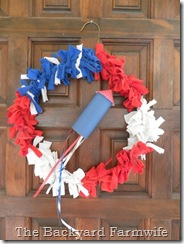 4th of July decor - The Backyard Farmwife