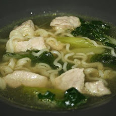 Pork Lo-Mein Soup
