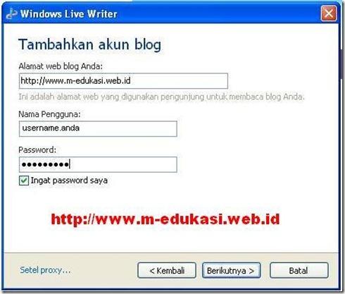 Microsoft Windows Live Writer 3