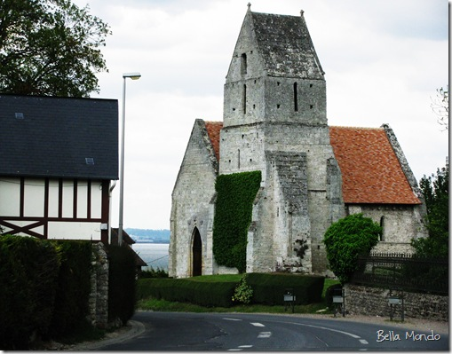 12th Century Church in Vasouy, France