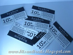 coupons from hyphen, by bitsandtreats