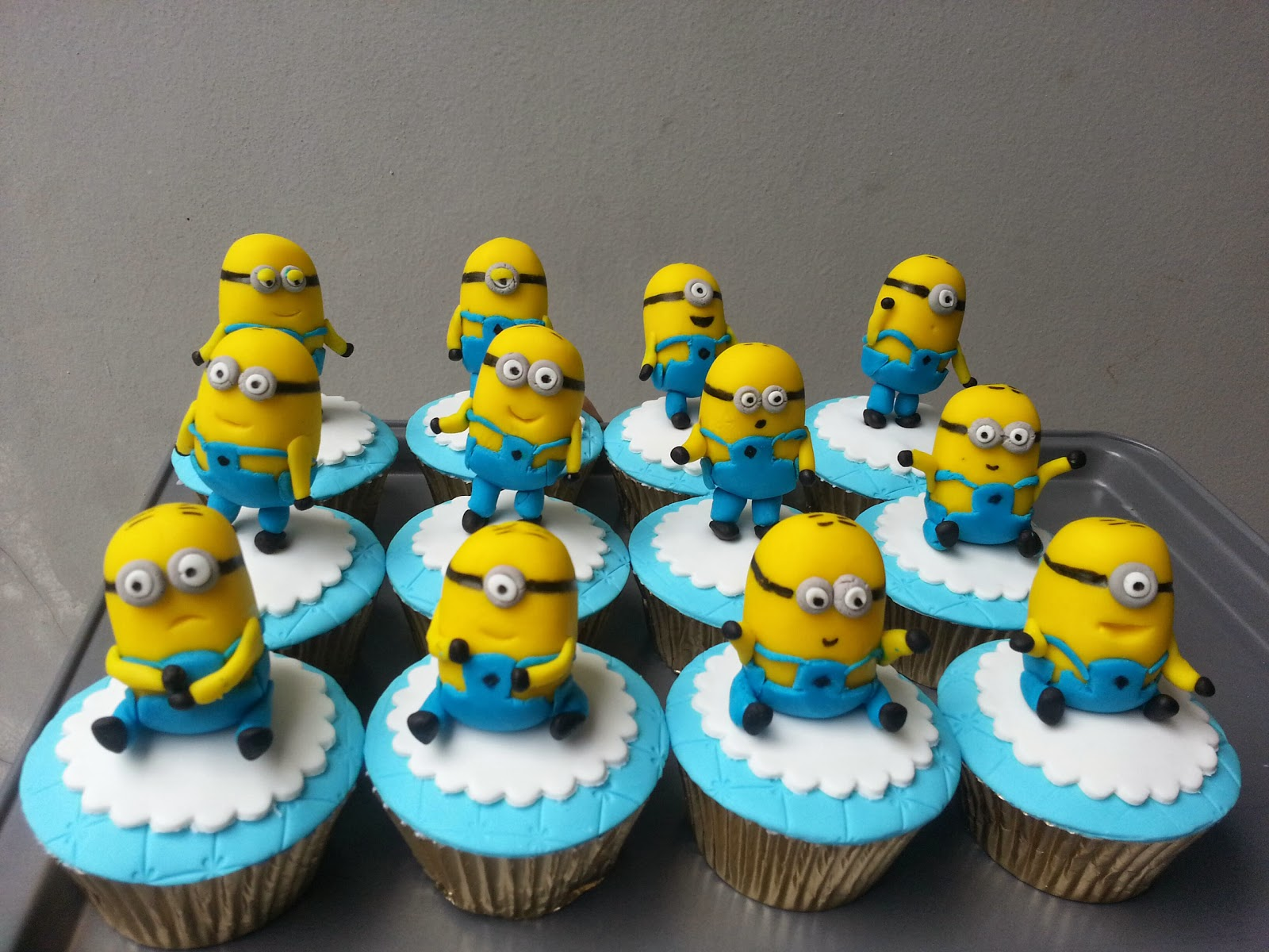 spatula and friends Minions Party