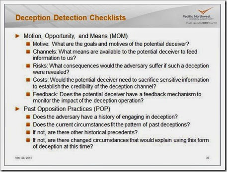 Week 7 Deception Detection 1