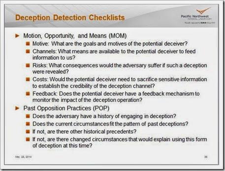 Week 7 Deception Detection 1