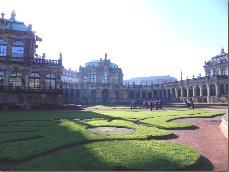 O Zwinger Dresden