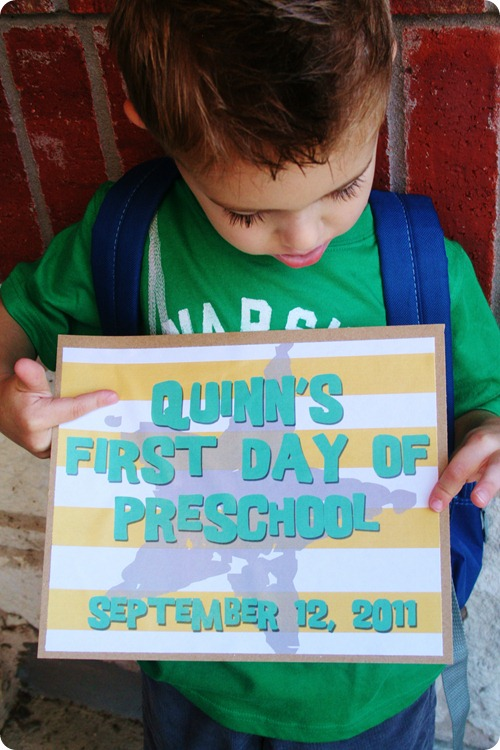First Day of PreK 2011 079