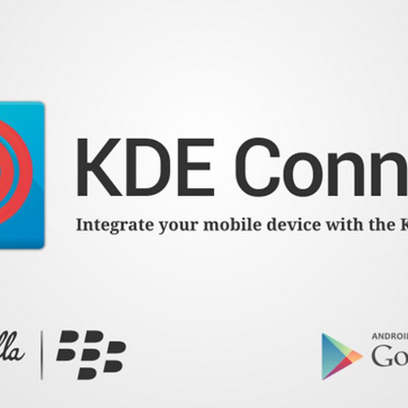 KDE Connect, il programma per controllare KDE direttamente dal nostro smartphone Android.