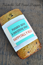 30 Handmade Days - Bread Wrapper