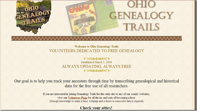 Ohio screenshot from gene trails