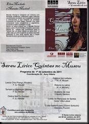 Programa Sarau Lírico MM008
