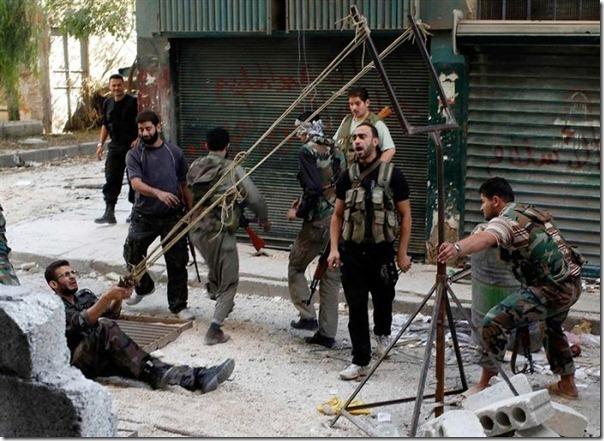 Lançador de granadas dos rebeldes sirios (3)