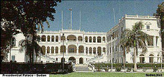 Photo of the Republican Palace in Khartoum, Sudan.