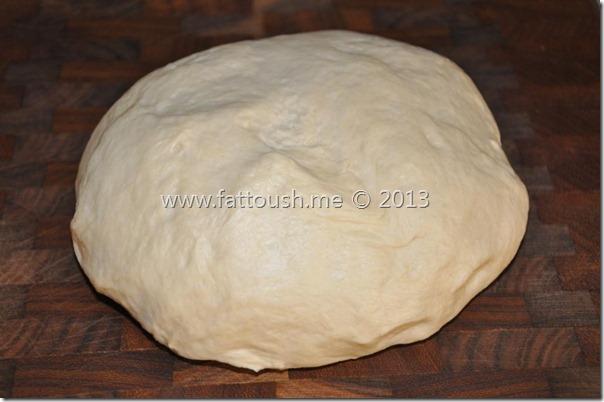 وصفة عجينة البيتزا by www.fattoush.me
