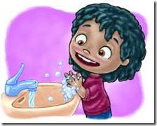 lavarse  las manos(133)