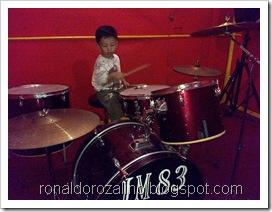 Violino Ridho Putra Kembali Berlatih Drum di JM 83 STUDIO (15)