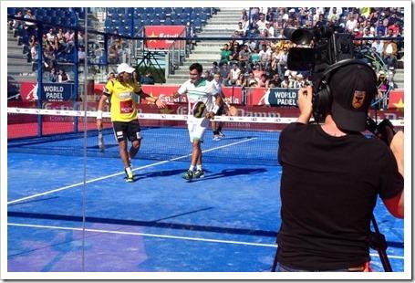 Todos los partidos por streaming de pago en el Masters Final World Padel Tour Ifema 2014.