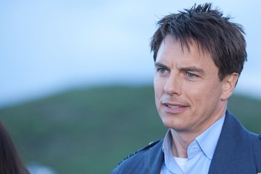 John Barrowman is Captain Jack Harkness in Torchwood Miracle Day Immortal Sins