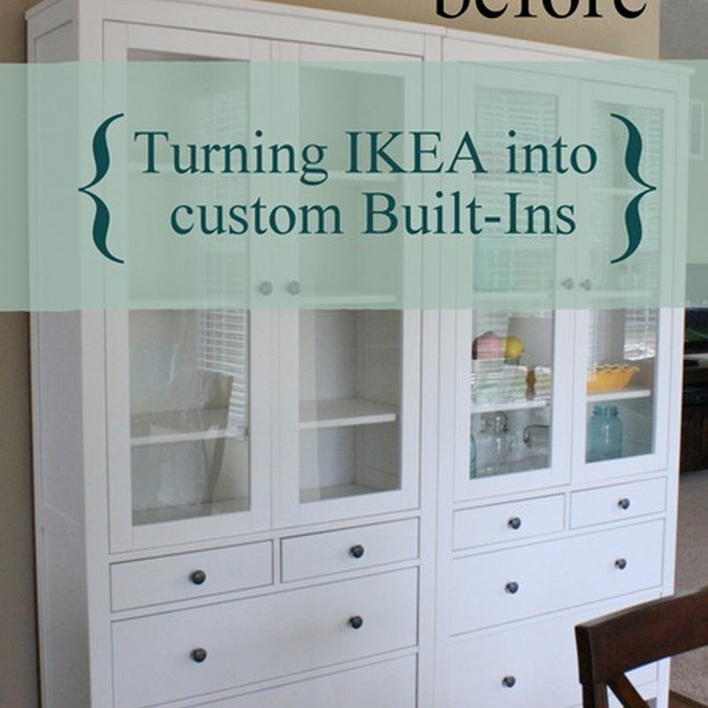 Ikea Furniture Glass Cabinets